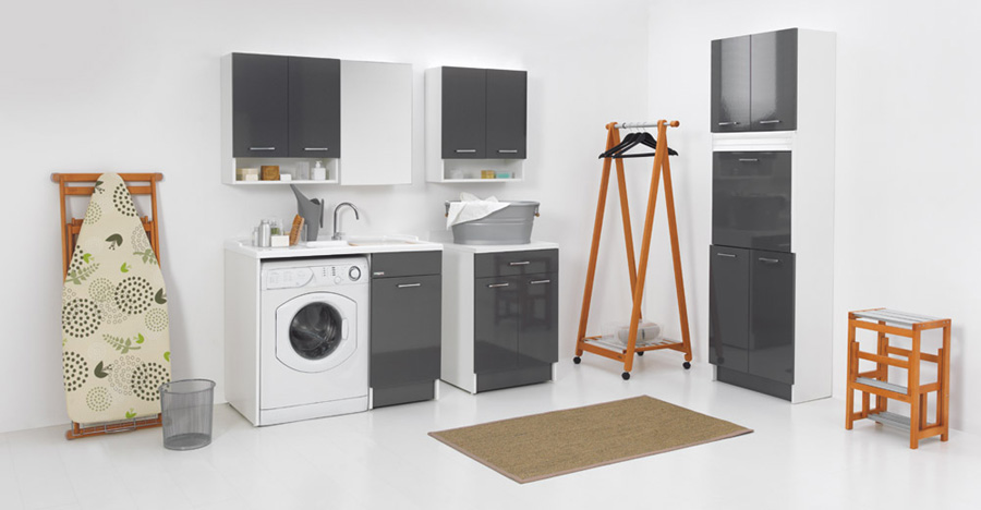 Area lavanderia in casa